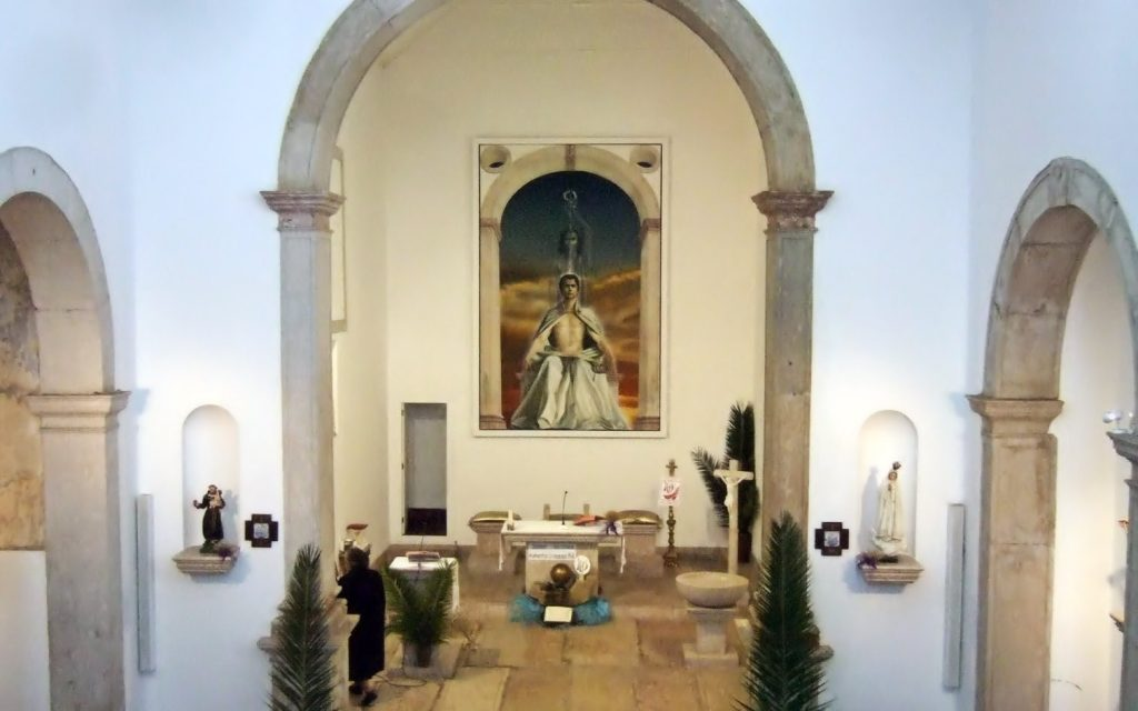 PAINEL DE SÃO LOURENÇO no altar-mor da Igreja de São Lourenço em Carnide, Lisboa