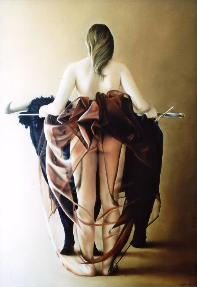 ENTREGA - PAINEL 1 (óleo sobre tela, 126x88 cm, 2003) DISPONÍVEL