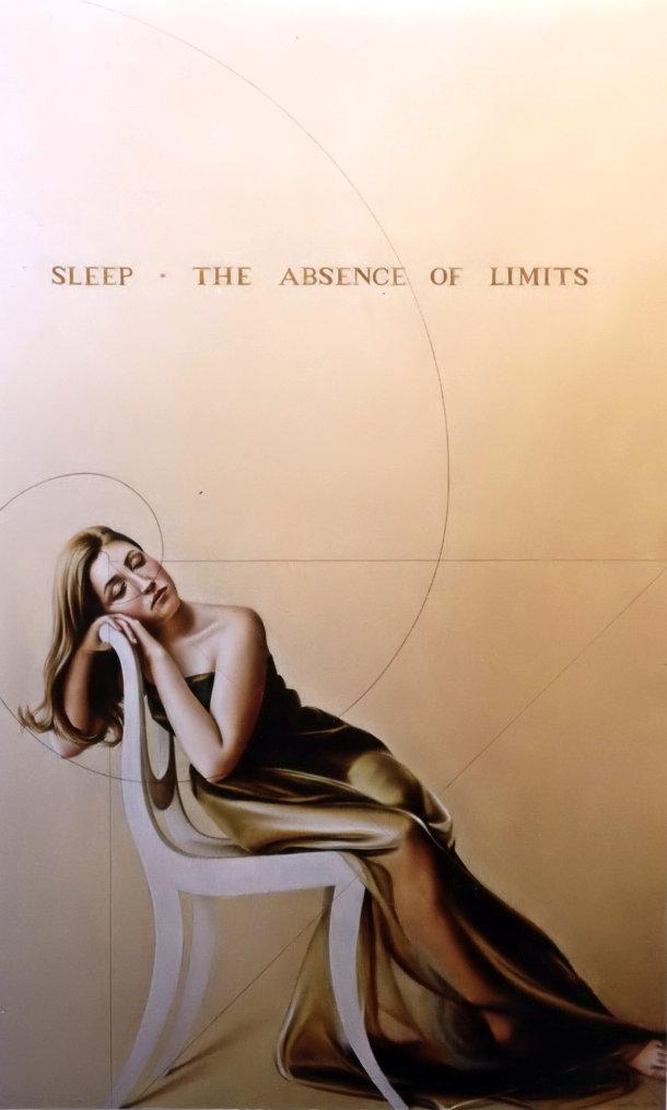 SONO - AUSÊNCIA DE LIMITES (óleo sobre tela, 131x82 cm, 2003)